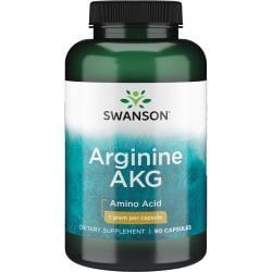 Swanson UltraMaximum Strength Arginine AKG Nitric Oxide Enhancer