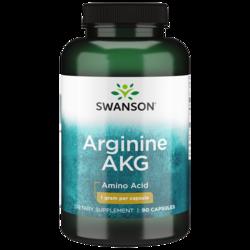 Swanson Ultra Maximum Strength Arginine AKG Nitric Oxide Enhancer