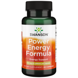Swanson UltraPower Energy Formula (Naturally-Occurring Caffeine + Herbs)