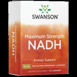 Swanson Ultra Maximum Strength NADH Fast-Acting