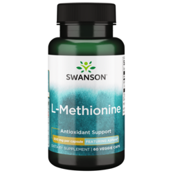 Swanson UltraAjiPure L-Methionine, Pharmaceutical Grade