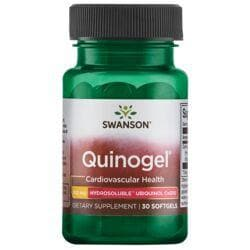 Swanson UltraQuinogel - Hydrosoluble Ubiquinol CoQ10