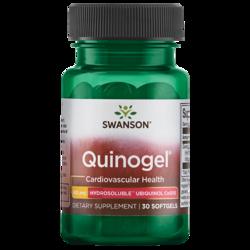 Swanson UltraQuinogel (Hydrosoluble Ubiquinol CoQ10)