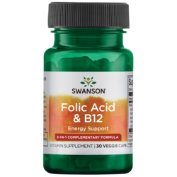 Swanson Ultra Folic Acid & B-12