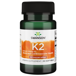 Swanson UltraHigh Potency Natural Vitamin K-2 (Menaquinone-7 from Natto)