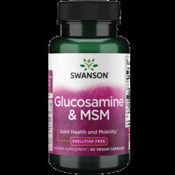 Swanson UltraVegetarian Glucosamine & MSM