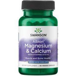 Swanson UltraAlbion Chelated Magnesium & Calcium 2:1