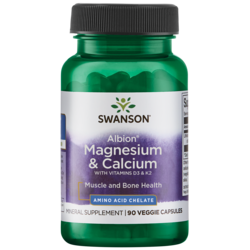 Swanson Ultra Albion Chelated Magnesium & Calcium 2:1