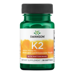 Swanson Ultra Natural Vitamin K2 with Nattokinase