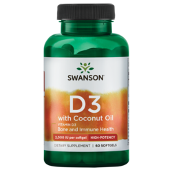 Swanson UltraVitamin D-3 with Coconut Oil