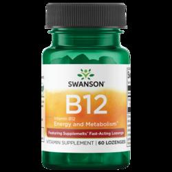 Swanson Ultra Supplemelts Sublingual Vitamin B-12