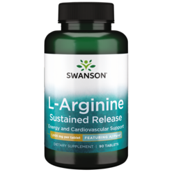 Swanson UltraAjiPure L-Arginine Sustained-Release Tablet