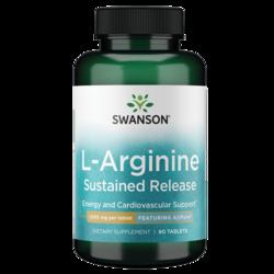 Swanson UltraAjiPure L-Arginine Sustained-Release Tablet
