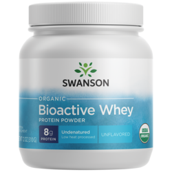 Swanson UltraCertified Organic Undenatured Bioactive Whey Protein