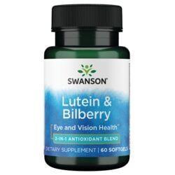 Swanson UltraStandardized Lutein & Bilberry