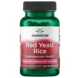 Swanson UltraRed Yeast Rice made with Organic Red Yeast Rice