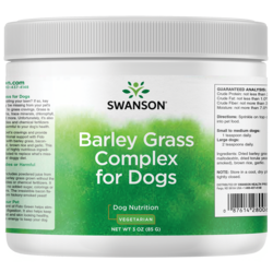 Swanson Pet Nutrition Fido Green Barley Grass Complex for Dogs