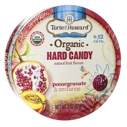 Torie & HowardOrganic Hard Candy - Pomegranate & Nectarine