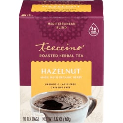 TeeccinoChicory Herbal Tea - Hazelnut