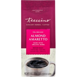 Teeccino Mediterranean Herbal Coffee - Almond Amaretto