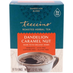 TeeccinoRoasted Herbal Tea - Dandelion Caramel Nut