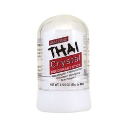 Thai Deodorant StoneThai Natural Crystal Deodorant Push-Up Stick