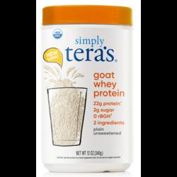 Tera's WheyGoat Whey Protein - Plain Whey Unsweetened