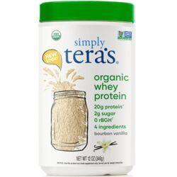 Tera's WheyGrass Fed Organic Whey Protein - Organic Bourbon Vanilla