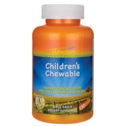 ThompsonChildren's Chewable - Punch Flavor