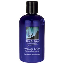 Thunder Ridge Emu ProductsMassage Lotion with 100% Pure Emu Oil