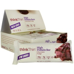 Think ThinProtein Bars - Chocolate Fudge