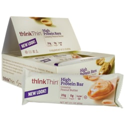 Think Thin Protein Bars - Creamy Peanut Butter