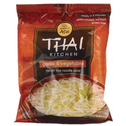 Thai KitchenInstant Rice Noodle Soup Garlic & Vegetable