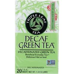Triple Leaf Tea Decaf Green Tea