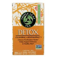 Triple Leaf TeaDetox Tea Caffeine Free