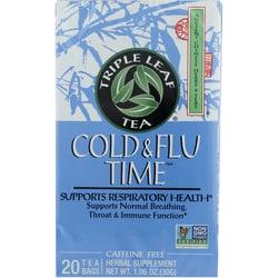 Triple Leaf Tea Cold & Flu Time