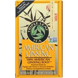 Triple Leaf Tea American Ginseng
