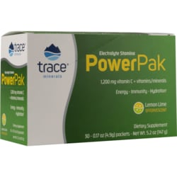 Trace MineralsElectrolyte Stamina Power Pak - Lemon Lime