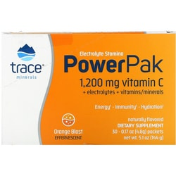 Trace MineralsElectrolyte Stamina Power Pak - Orange Blast