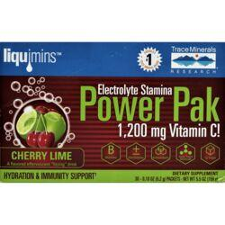 Trace MineralsElectrolyte Stamina Power Pak - Cherry Lime