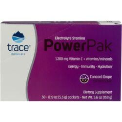 Trace MineralsElectrolyte Stamina Power Pak - Concord Grape