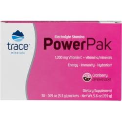 Trace MineralsElectrolyte Stamina Power Pak - Cranberry