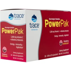 Trace Minerals Electrolyte Stamina Power Pak - Raspberry