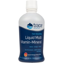Trace MineralsLiquid Multivitamin Mineral - Orange Mango