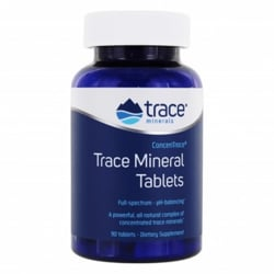 Trace Minerals Trace Mineral Tablets