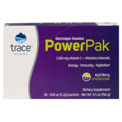 Trace Minerals Electrolyte Stamina Power Pak - Acai Berry