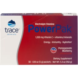 Trace MineralsElectrolyte Stamina Power Pak - Pomegranate Blueberry
