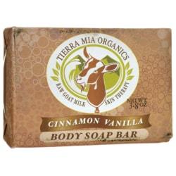 Tierra Mia Organics Cinnamon Vanilla Body Soap Bar