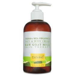 Tierra Mia OrganicsRaw Goat Milk Skin Therapy Face & Body Cream - Coconut