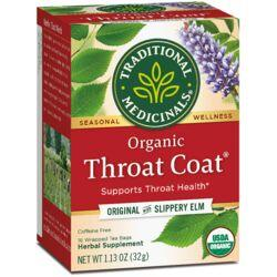 Traditional MedicinalsOrganic Throat Coat Tea